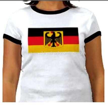 germany t-shirt flag