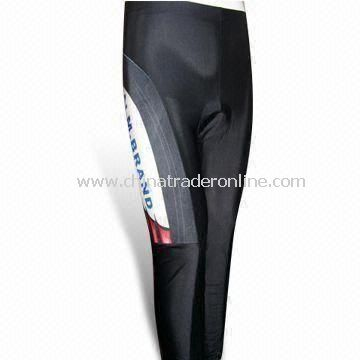 Sports Cycling Shorts with Quick-dry and Good Moisture Management, Customized Logos are Accepted