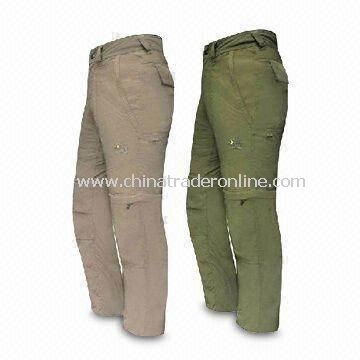 Sports Pants, Made of Comfortable Cotton, Customized Designs are Welcome