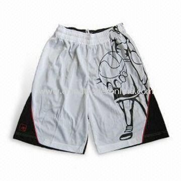 Sports Shorts and Pants, Customized Designs are Accepted, Available in Different Sizes