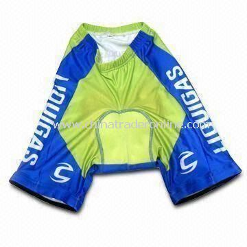 Sports Shorts and Pants, Made of lycra, Available in Various Colors