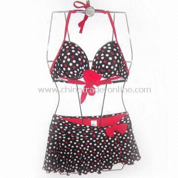 Swimwear, Various Styles are Available, Made of 82% Nylon + 18% Spandex from China