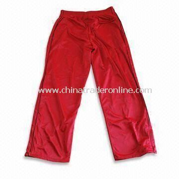 Training and Jogging Pants, Customized Colors are Accepted, Available in Red