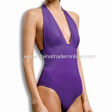 Womens Swimsuit, OEM Orders are Welcome, Available in Purple