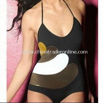 Womens Swimsuit/Swimwear, OEM Orders are Welcome, Regular Fit from China