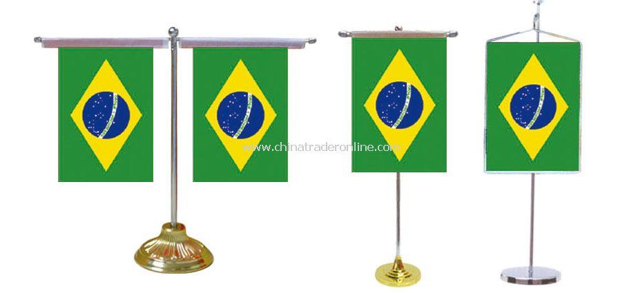 Brazil desk flag