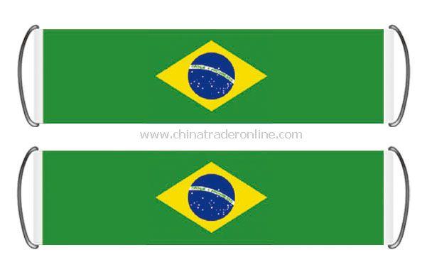 Brazil fan banner flag