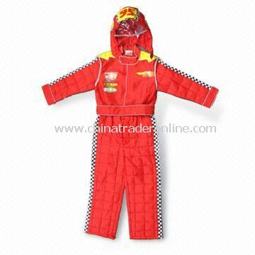 Childrens Racing Suit, Made of 100% Polyester, Measures 92 to 122cm