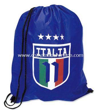Italy bag flag