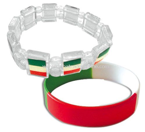 Italy bracelet flag from China