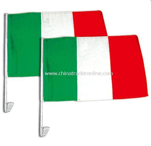 Italy car flag