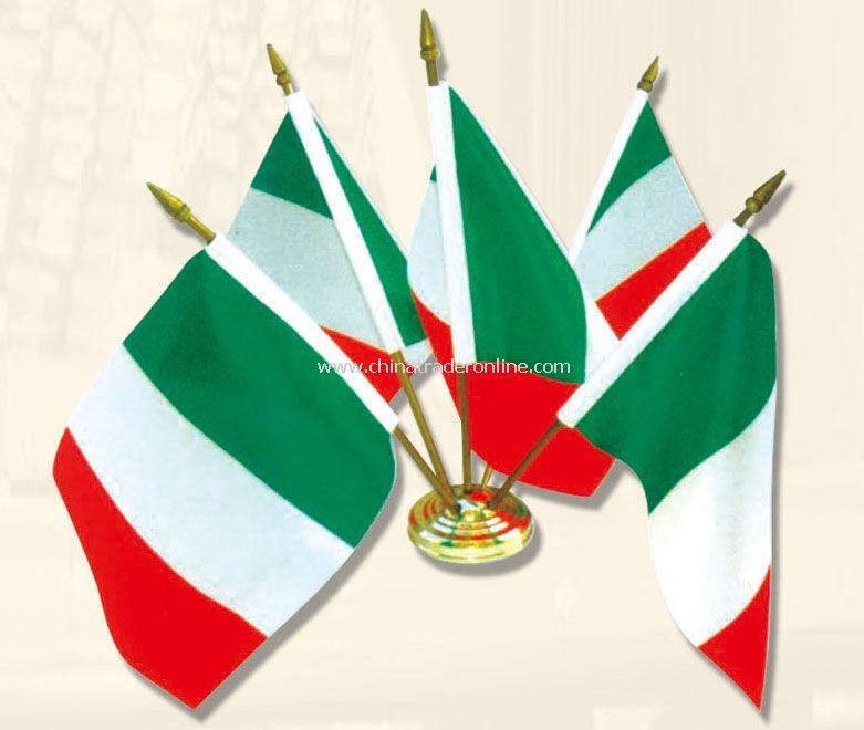 Italy desk flag
