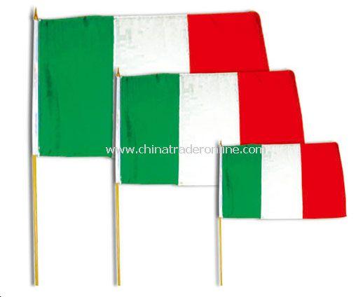 Italy hand flag