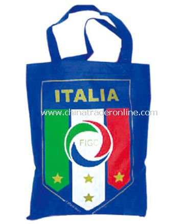 Italy shopping bag flag