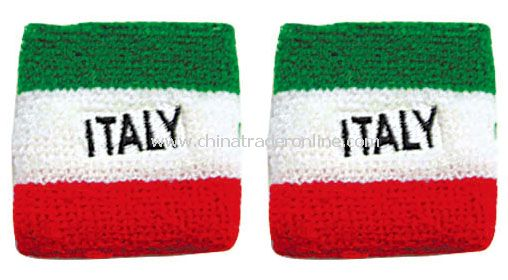 Italy wristband flag from China