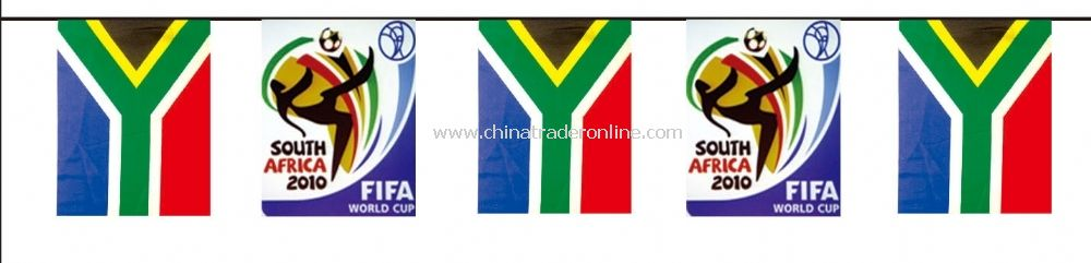 south africa bunting flag