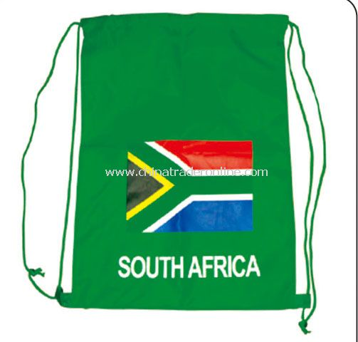 south africa fan bag flag