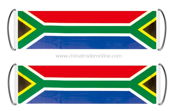 south africa fan banner flag