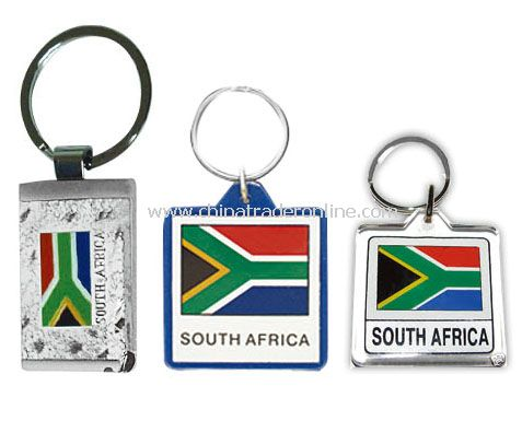 south africa keychain flag