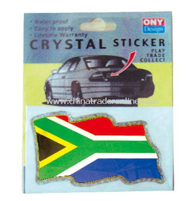 south africa sticker flag