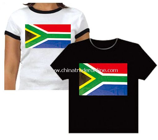 south africa t-shirt flag