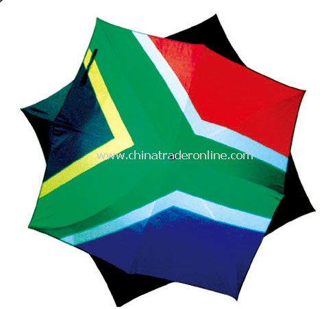 south africa umbrella flag