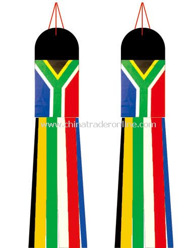 south africa wind sock flag