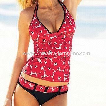 Swimwear, Made of 80% Nylon and 20% Spandex, Available in Size of XS to XXL