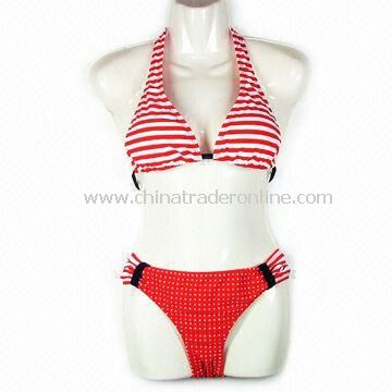 Swimwear, Made of 80% Polyester, Customized Logo Available