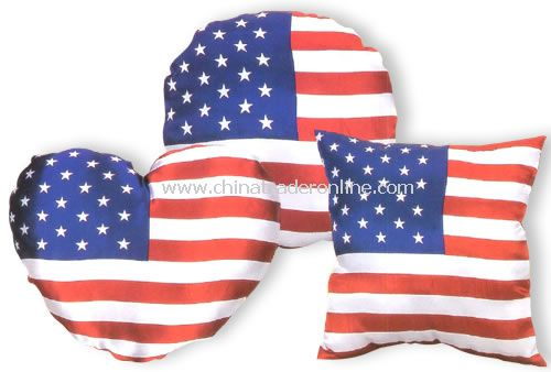 USA cushion flag