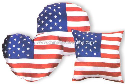 USA cushion flag from China