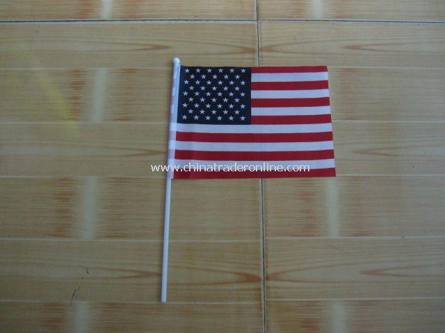 USA hand Flag