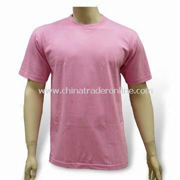 100% Combed Cotton T-shirt for Men, Ideal for Promotional Purposes
