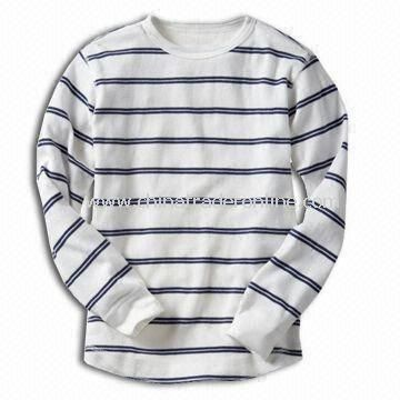 100% Cotton T-shirt for Children, Customized Designs, Logos, and Fabrics are Welcome