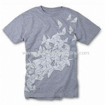 Mens Cotton T-shirt, Available in Various Colors and Sizes from China