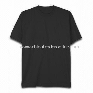 Mens Cotton T-shirt, Available in Various Colors with Various Sizes from China