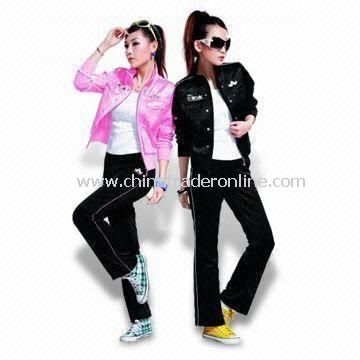 Womens Blazers in Various Colors, OEM Orders are Welcome, Can be Used as Jogging and Training Set