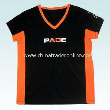 Womens Cotton T-shirt in Sizes from 8 to 18cm from China