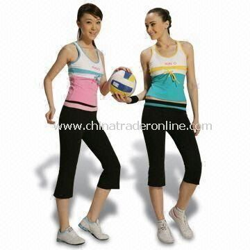 Womens Training and Jogging Suits, Customized Colors are Welcome