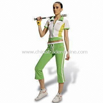 Womens Training/Jogging Suit, Available in White and Green