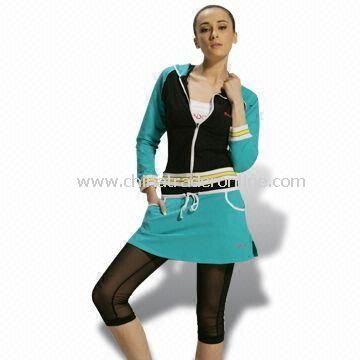 Womens Training/Jogging Suit, Customized Designs are Welcome