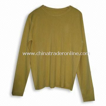Ladies Knitted Sweater with Soft Feeling, Made of 100% Soft Acrylic/Cashmere Like