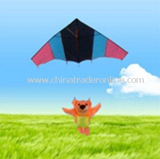 Bear parachute kite