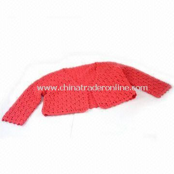 Childrens AC/WO Hand Crochet Cape, Available in Red