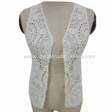 Crochet Sweater for Women with 0.3 to 0.5cm in Tolerance, Made by Machines
