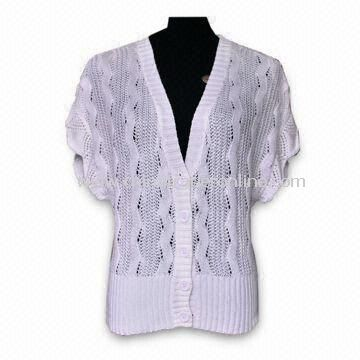 Womens Cardigan Sweater by Crochet Machine for Summer Season