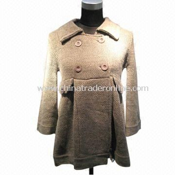 Womens Sweater/Cardigan, Made of 30% Wool and 70% Acrylic