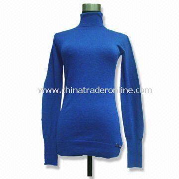 Woolen Sweater, Suitable for Women, Weighs 14 to 125g