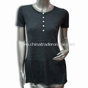 Lamb Wool/Nylon Sweater, Suitable for Ladies, Soft and Gentle, Fashionable