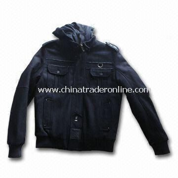 Mens Knitwear with Brand Style, Made of 100% Polyester, Customized Colors are Welcome